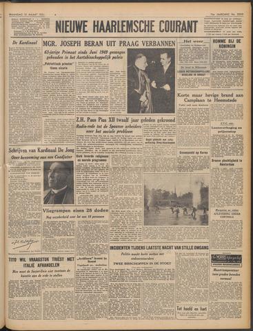 Nieuwe Haarlemsche Courant 1951-03-12