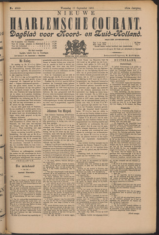 Nieuwe Haarlemsche Courant 1901-09-11