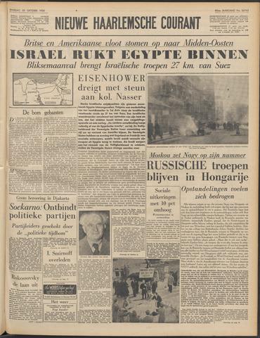 Nieuwe Haarlemsche Courant 1956-10-30