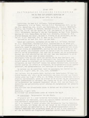 Raadsnotulen Heemstede 1979-05-18