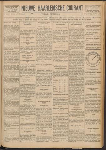 Nieuwe Haarlemsche Courant 1930-10-03