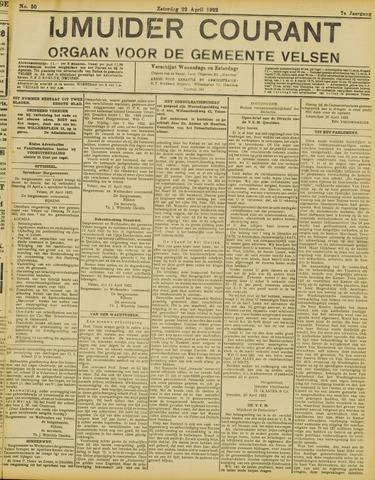 IJmuider Courant 1922-04-22