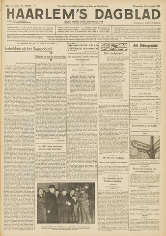 Haarlem's Dagblad 1935-01-16