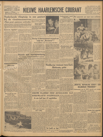 Nieuwe Haarlemsche Courant 1949-07-07