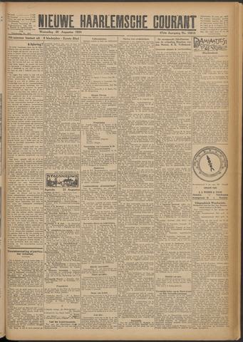 Nieuwe Haarlemsche Courant 1924-08-20