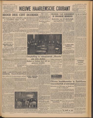 Nieuwe Haarlemsche Courant 1951-03-19