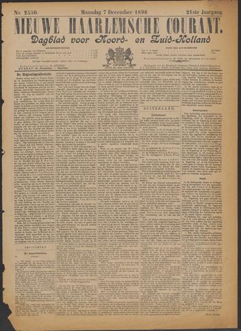 Nieuwe Haarlemsche Courant 1896-12-07