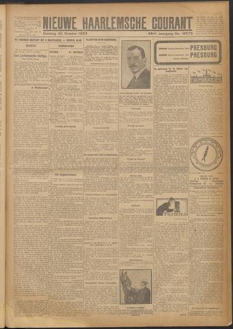 Nieuwe Haarlemsche Courant 1923-10-30