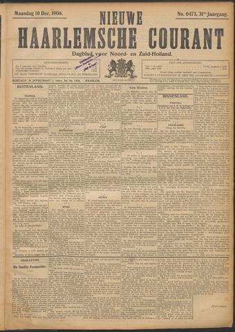 Nieuwe Haarlemsche Courant 1906-12-10