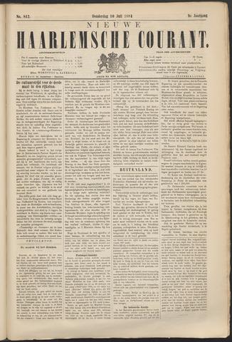 Nieuwe Haarlemsche Courant 1884-07-10