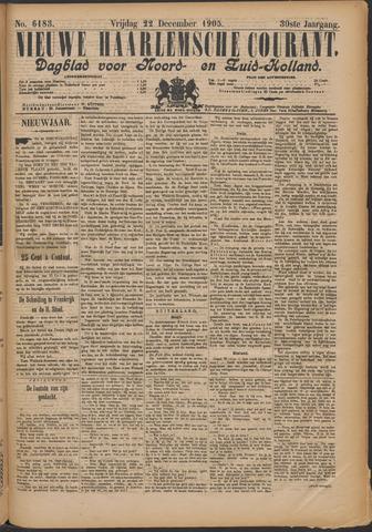 Nieuwe Haarlemsche Courant 1905-12-22