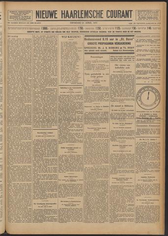 Nieuwe Haarlemsche Courant 1931-04-21