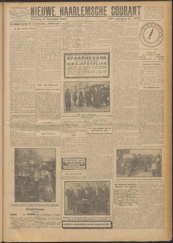 Nieuwe Haarlemsche Courant 1923-11-12