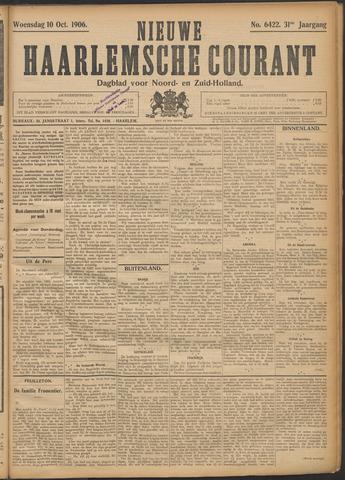 Nieuwe Haarlemsche Courant 1906-10-10