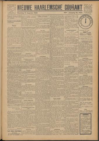 Nieuwe Haarlemsche Courant 1922-08-14