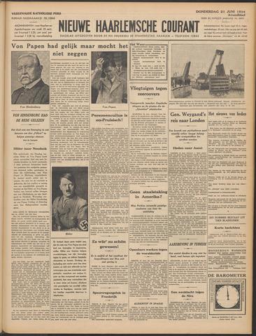 Nieuwe Haarlemsche Courant 1934-06-21