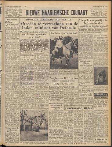 Nieuwe Haarlemsche Courant 1952-11-25