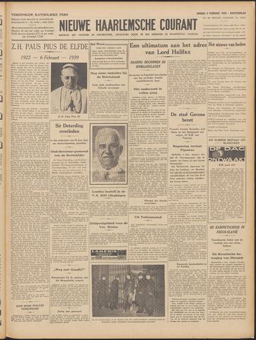 Nieuwe Haarlemsche Courant 1939-02-05
