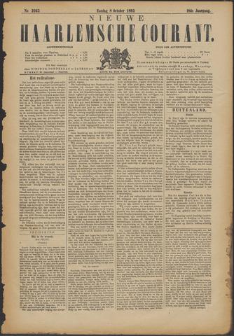 Nieuwe Haarlemsche Courant 1893-10-08