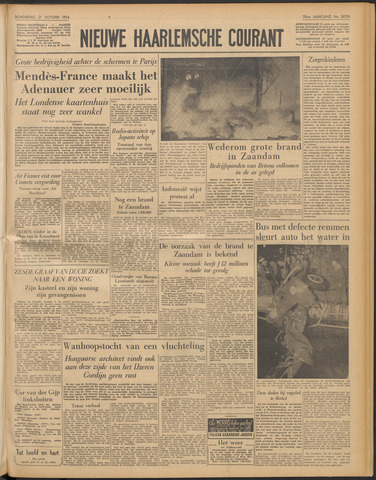 Nieuwe Haarlemsche Courant 1954-10-21
