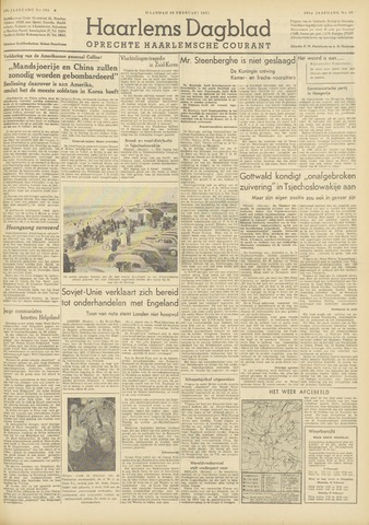 Haarlem's Dagblad 1951-02-26