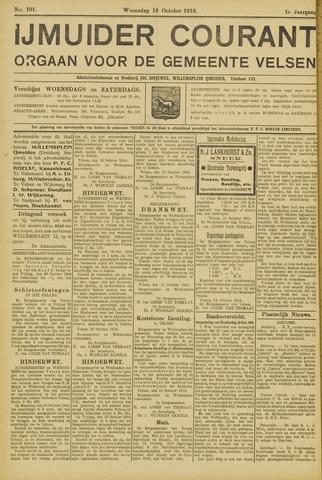IJmuider Courant 1916-10-18