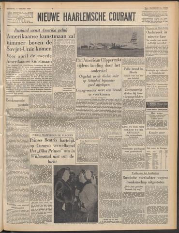 Nieuwe Haarlemsche Courant 1958-02-03