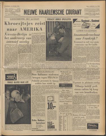 Nieuwe Haarlemsche Courant 1962-10-18