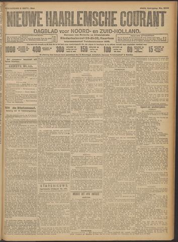 Nieuwe Haarlemsche Courant 1913-09-11
