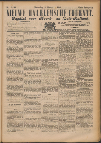 Nieuwe Haarlemsche Courant 1906-03-05