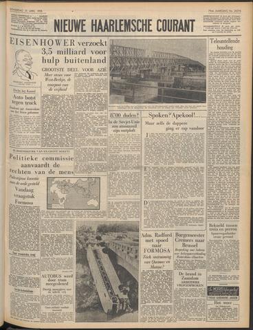 Nieuwe Haarlemsche Courant 1955-04-21