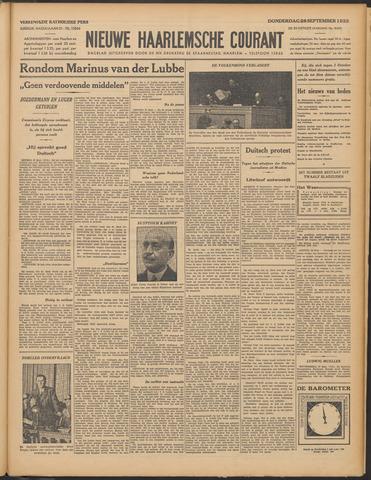 Nieuwe Haarlemsche Courant 1933-09-28