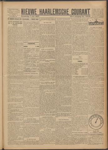 Nieuwe Haarlemsche Courant 1923-06-07
