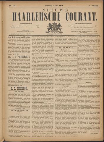 Nieuwe Haarlemsche Courant 1878-07-04