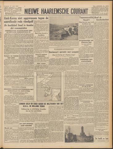 Nieuwe Haarlemsche Courant 1950-06-27