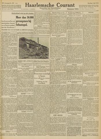 Haarlemsche Courant 1942-07-04