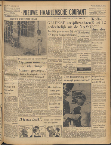 Nieuwe Haarlemsche Courant 1964-08-18
