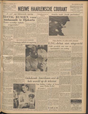 Nieuwe Haarlemsche Courant 1954-08-30