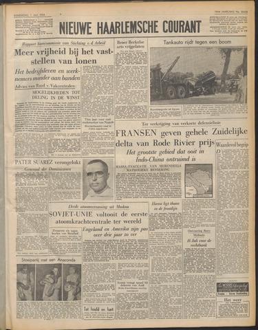 Nieuwe Haarlemsche Courant 1954-07-01