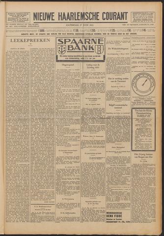 Nieuwe Haarlemsche Courant 1931-06-27