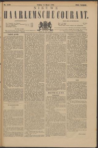 Nieuwe Haarlemsche Courant 1895-03-15