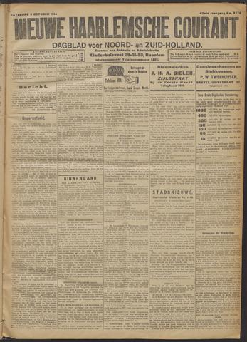 Nieuwe Haarlemsche Courant 1914-10-03