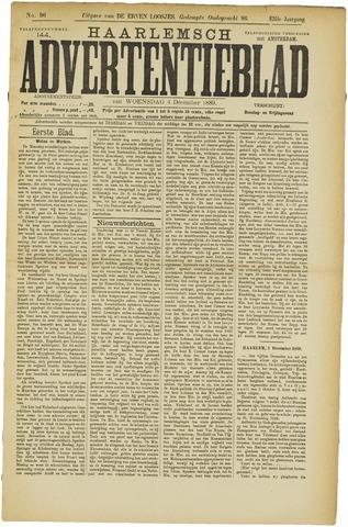 Haarlemsch Advertentieblad 1889-12-04