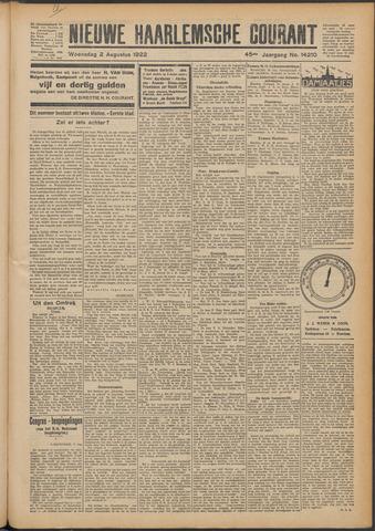 Nieuwe Haarlemsche Courant 1922-08-02