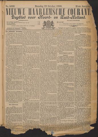Nieuwe Haarlemsche Courant 1900-10-29