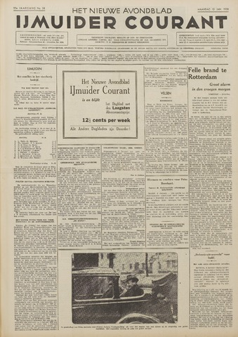 IJmuider Courant 1938-01-10