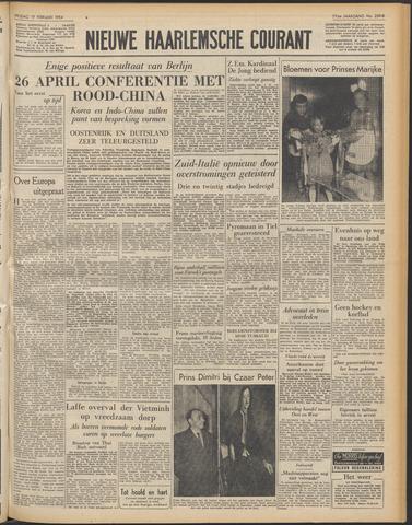 Nieuwe Haarlemsche Courant 1954-02-19