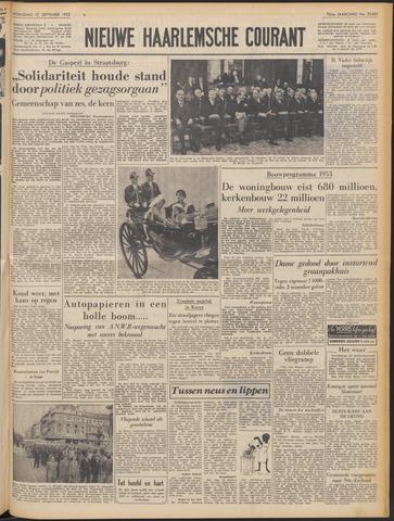 Nieuwe Haarlemsche Courant 1952-09-17