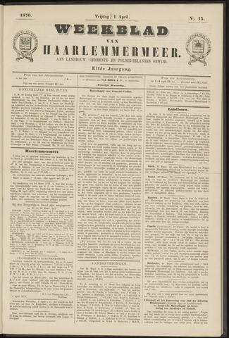 Weekblad van Haarlemmermeer 1870-04-01