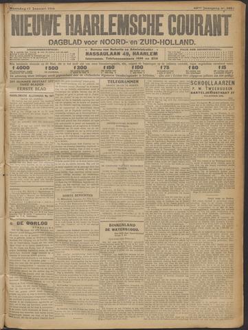 Nieuwe Haarlemsche Courant 1916-01-17